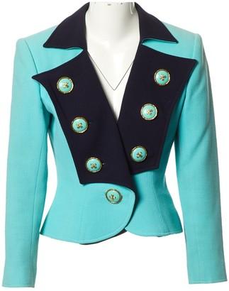 Christian Lacroix Green Wool Jacket for Women Vintage
