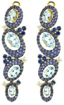Judith Ripka Caserta Multi Oval Drop Earring