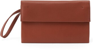 Hobo Fuse Leather Clutch