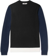 McQ by Alexander McQueen Colour-Block Wool Sweater