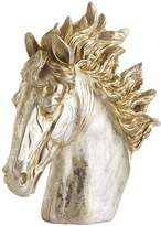 Pier 1 Imports Champagne Patina Horse Head