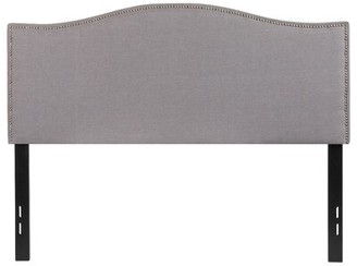 Charlton Home Fitzsimmons Panel Headboard Size: Full, Color: Beige