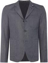 Peter Werth Men's Stoker Cotton Striped Workwear Blazer