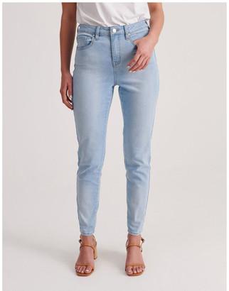 Grab Olivia High Waist Skinny Jean Lt