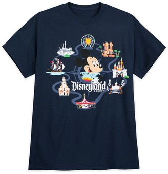 Disney Mickey Mouse Retro T-Shirt for Adults Disneyland