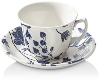 Ralph Lauren Garden Vine Tea Cup & Saucer Set
