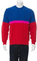 Kenzo Cable Knit Wool Sweater