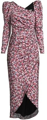 Fame & Partners The Isla Puff-Sleeve Dress