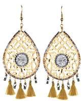 Mishky Fili Tassel Drop Earrings