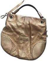 Alexander McQueen Legend Gold Leather Handbags