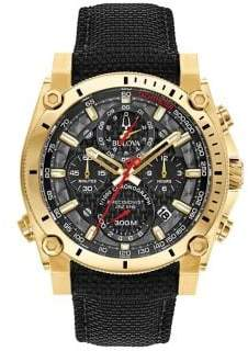 Bulova Precisionist Mesh Strap Chronograph Watch