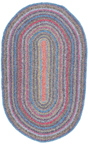 nuLoom Maynard Hand-Braided Cotton Oval Rug
