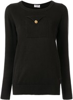 Chanel Pre Owned chest pocket jumper