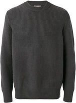 N.Peal waffle knit jumper - men - Cashmere - S