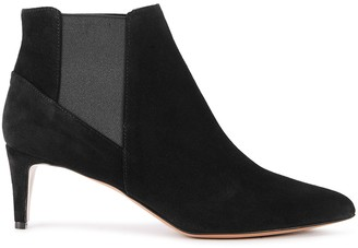 ATP ATELIER Cynara 65 black suede ankle boots