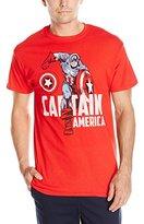 Marvel Men's Captain America Pose Men's T-Shirt