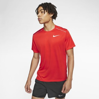 Nike Men's Short-Sleeve Running Top Dri-FIT Miler