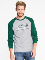 Old Navy Soft-Washed Thermal Graphic Tee for Men