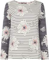 Joules Long sleeves crew neck printed jersey top