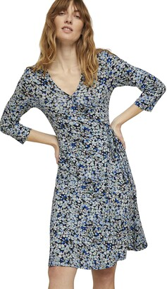 Tom Tailor Women's 1021380 Wrap Dress
