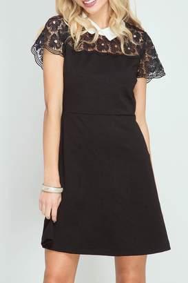 She + Sky Hello Lace Dress