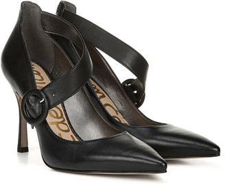 Sam Edelman Pointed-Toe Leather Pumps - Hinda