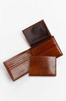 Bosca Men's Id Passcase Wallet - Brown