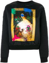 Etro printed sweatshirt - women - Cotton/Polyester/Viscose - 40