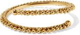 Elizabeth Cole Gia gold-plated bangle