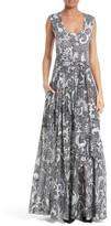 Diane von Furstenberg Women's Cotton & Silk Maxi Dress