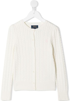 Ralph Lauren Kids Cable-Knit Cardigan