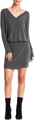 Bailey 44 Lloyd Wool-Blend Shift Dress
