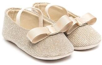 Babywalker Bow-Detail Ballerina Shoes