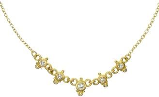Judith Ripka 14K Gold 3/8 cttw Diamond Necklace