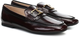 Tod's T leather loafers