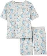 RED WAGON Boy's Aop Dino Skater Tee & Short Pyjama Set