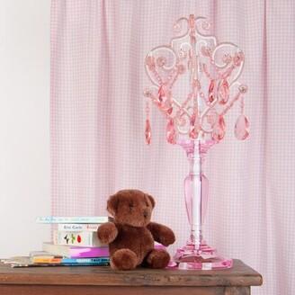 "Three Posts Baby & Kids Aldora 20"" Table Lamp Finish: Pink"