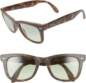 Ray-Ban 50mm Wayfarer Folding Sunglasses