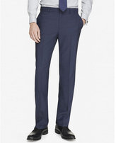Express modern producer micro twill navy suit pant