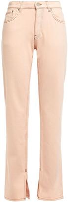 Ganni High-rise Straight-leg Jeans