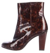 Dries Van Noten Tortoiseshell Ankle Boots
