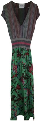 Non Signã© / Unsigned Multicolour Silk Dresses