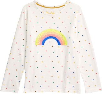 Boden Kids' Color Change Sequin Shirt