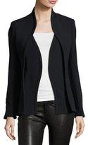 Brandon Maxwell Layered Suit Jacket, Black
