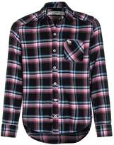 Abercrombie & Fitch CORE SHINE PLAID Shirt navy