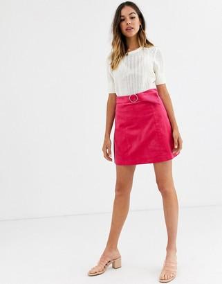 Glamorous corduroy mini skirt