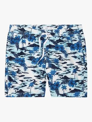 Onia Charles Dawn on Island 5 Swim Shorts, Blue