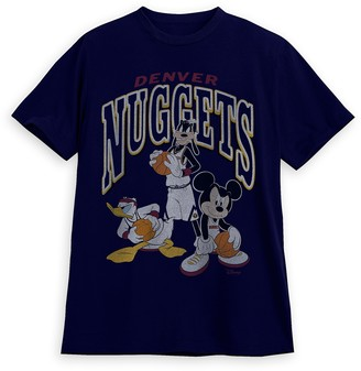 Disney Mickey Mouse and Friends Denver Nuggets T-Shirt for Adults by Junk Food