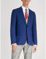 Paul Smith Hopsack weave Soho-fit wool jacket