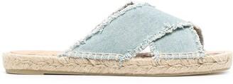 Castaner Palmera crossover-straps sandals